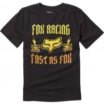 T-SHIRT FOX JUNIOR RUPPE BLACK