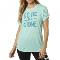 T-SHIRT FOX LADY INVARIABLE CREW RL SLVE H2O
