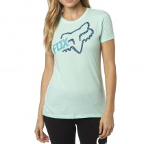 T-SHIRT FOX LADY REACTED CREW H2O XS