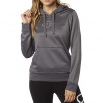 BLUZA FOX LADY Z KAPTUREM SHARPED HEATHER DARK GREY S