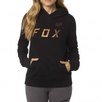 BLUZA FOX LADY Z KAPTUREM COPPER MOTH BLACK