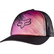 CZAPKA Z DASZKIEM FOX LADY HYPED TRUCKER BLACK OS