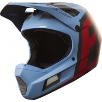 KASK ROWEROWY FOX RAMPAGE COMP CREO BLUE/RED