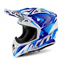 KASK AIROH AVIATOR 2.2 FLASH BLUE GLOSS L
