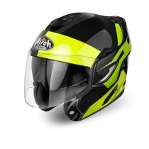 KASK AIROH REV FUSION YELLOW GLOSS