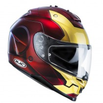 KASK HJC IS-17 IRONMAN RED/GOLD M