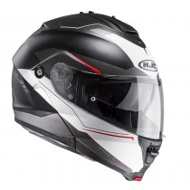 KASK HJC IS-MAX II MAGMA BLACK/WHITE/RED