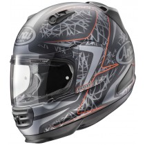 KASK ARAI REBEL STING FROST RED L