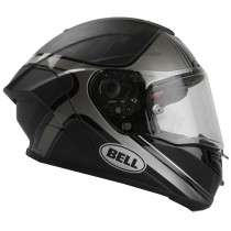 KASK BELL PRO STAR TRACER BLACK/SILVER