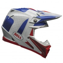 KASK BELL MOTO-9 FLEX VICE BLUE/RED