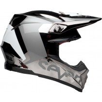 KASK BELL MOTO-9 FLEX SEVEN ROGUE BLACK/CHROME