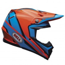 KASK BELL MOTO-9 SPARK ORANGE XXL