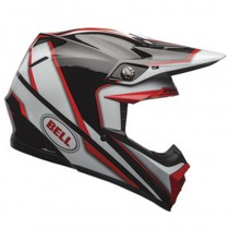 KASK BELL MOTO-9 SPARK RED/BLACK XL