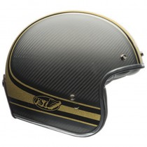 KASK BELL CUSTOM 500 CARBON RSD BOMB BLACK/GOLD XS