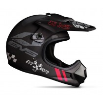 KASK EVS JUNIOR T3 FURY BLACK MATT