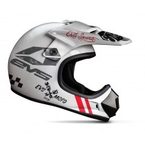 KASK EVS JUNIOR T3 FURY WHITE MATT