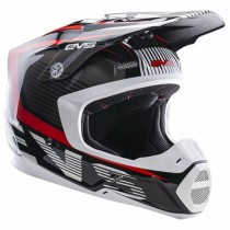 KASK EVS T5 VECTOR BLACK/RED XL