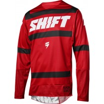 BLUZA SHIFT 3LACK STRIKE DARK RED