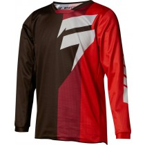 BLUZA SHIFT JUNIOR WHIT3 TARMAC BLACK/RED
