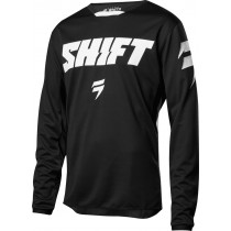 BLUZA SHIFT WHIT3 NINETY SEVEN BLACK