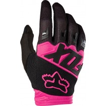RĘKAWICE FOX JUNIOR DIRTPAW RACE BLACK/PINK YXS