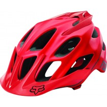 KASK ROWEROWY FOX FLUX RED MATT