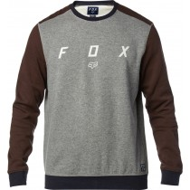 BLUZA FOX DISTRICT HEATHER GRAPHITE L