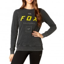 BLUZA FOX LADY GROWLED BLACK