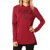 BLUZA FOX LADY Z KAPTUREM AXIOM DARK RED S