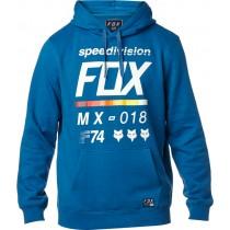BLUZA FOX Z KAPTUREM DISTRICT 2 DUST BLUE
