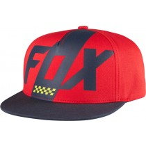 CZAPKA Z DASZKIEM FOX JUNIOR SCALENE DARK RED YOS