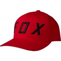 CZAPKA Z DASZKIEM FOX MOTH 110 RED OS