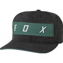 CZAPKA Z DASZKIEM FOX SET IN HEATHER BLACK