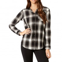KOSZULA FOX LADY DENY FLANNEL BLACK S