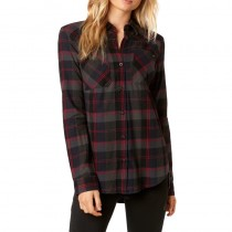 KOSZULA FOX LADY FLOWN FLANNEL MIDNIGHT XS