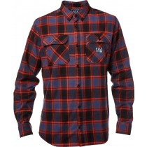KOSZULA FOX TRAILDUST FLANNEL MIDNIGHT L