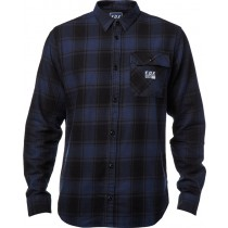 KOSZULA FOX VOYD FLANNEL BLACK/BLUE M