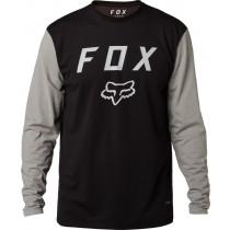 KOSZULKA FOX Z DŁUGIM RĘKAWEM CONTENDED BLACK S