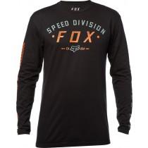 KOSZULKA FOX Z DŁUGIM RĘKAWEM GROUND FOG BLACK XL