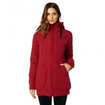 KURTKA FOX LADY METRICK DARK RED