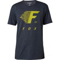 T-SHIRT FOX FADE TO TRACK TECH HEATHER MIDNIGHT L