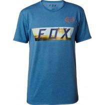 T-SHIRT FOX GHOSTBURN TECH HEATHER BLUE