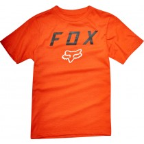 T-SHIRT FOX JUNIOR CONTENDED ORANGE YXL