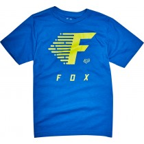 T-SHIRT FOX JUNIOR FADE TO TRACK TRUE BLUE