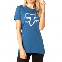 T-SHIRT FOX LADY CERTAIN DUST BLUE XS