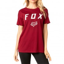 T-SHIRT FOX LADY DISTRICT DARK RED S