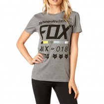 T-SHIRT FOX LADY DRAFTR HEATHER GREY XS
