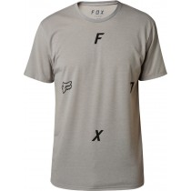 T-SHIRT FOX RAWCUS TECH HEATHER DARK GREY