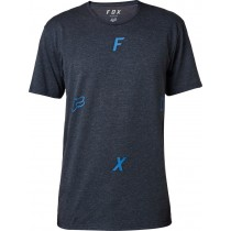 T-SHIRT FOX RAWCUS TECH HEATHER MIDNIGHT