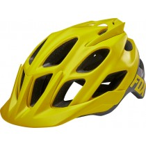 KASK ROWEROWY FOX FLUX CREO DARK YELLOW